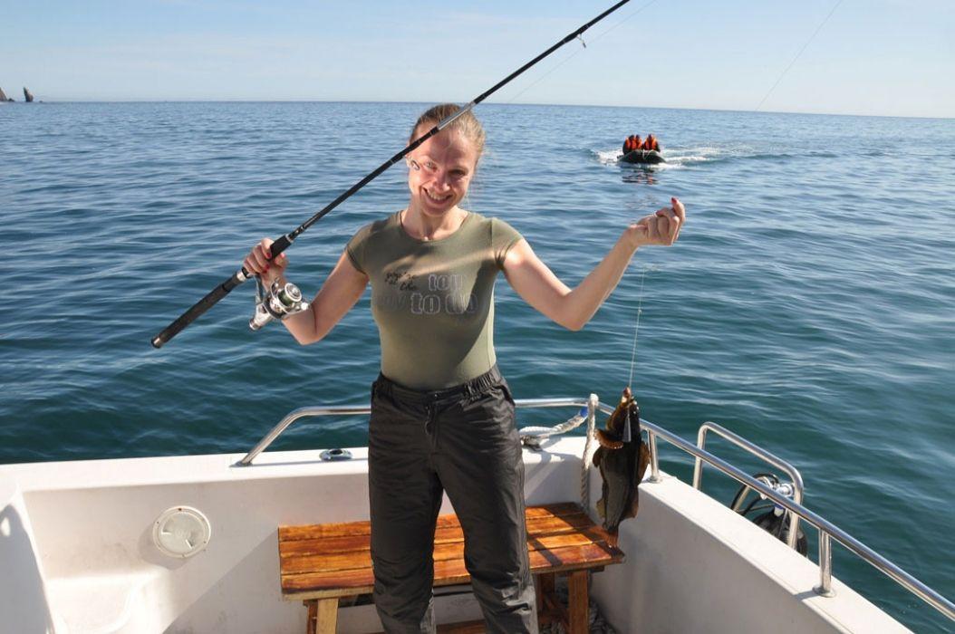 Рыбалка с берега греция